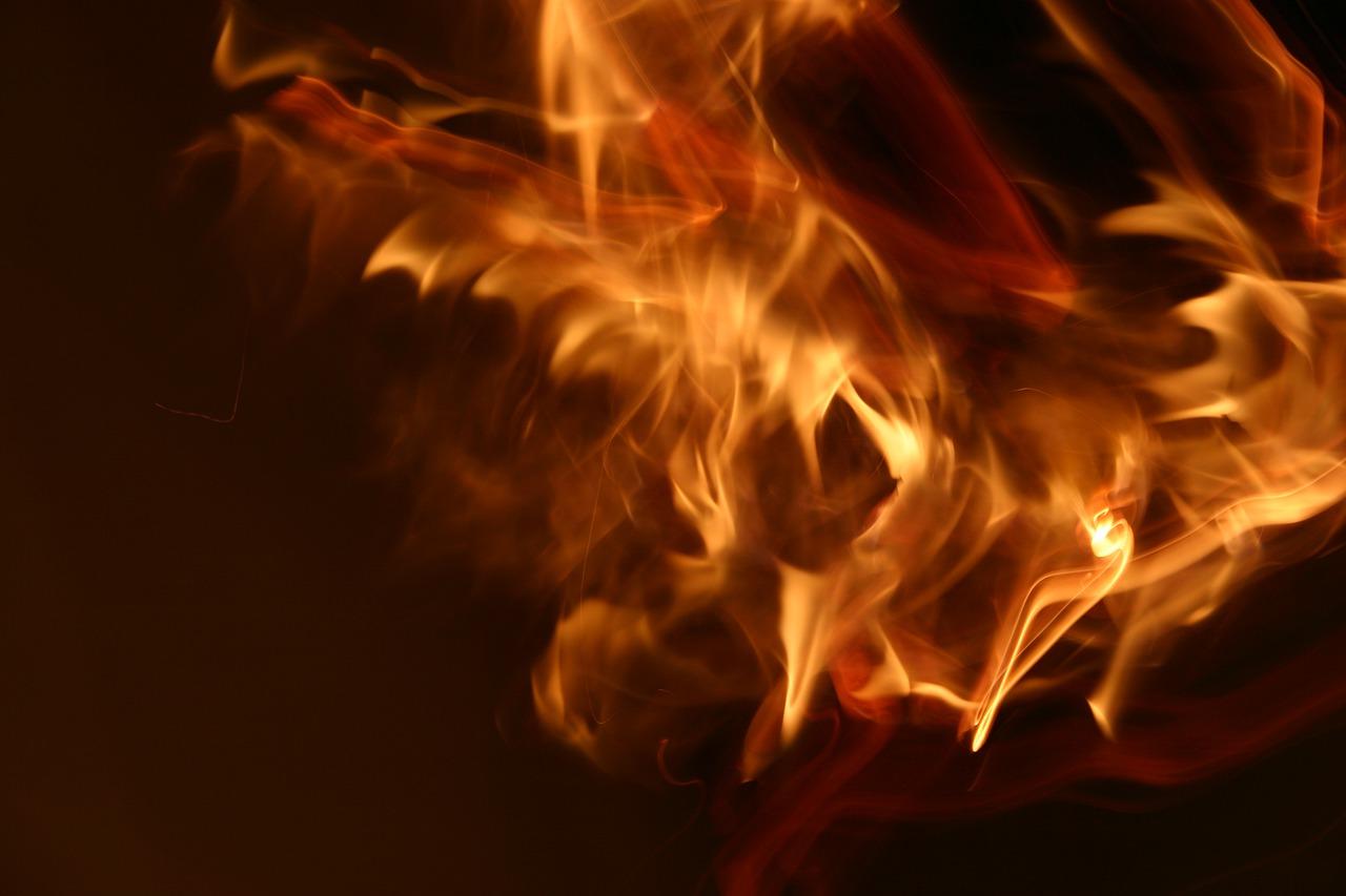Fire Flame Glow Volcano Light
