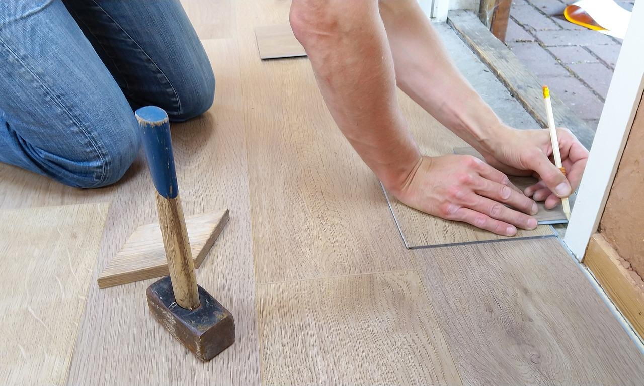 Floor Flooring Carpenter Interior