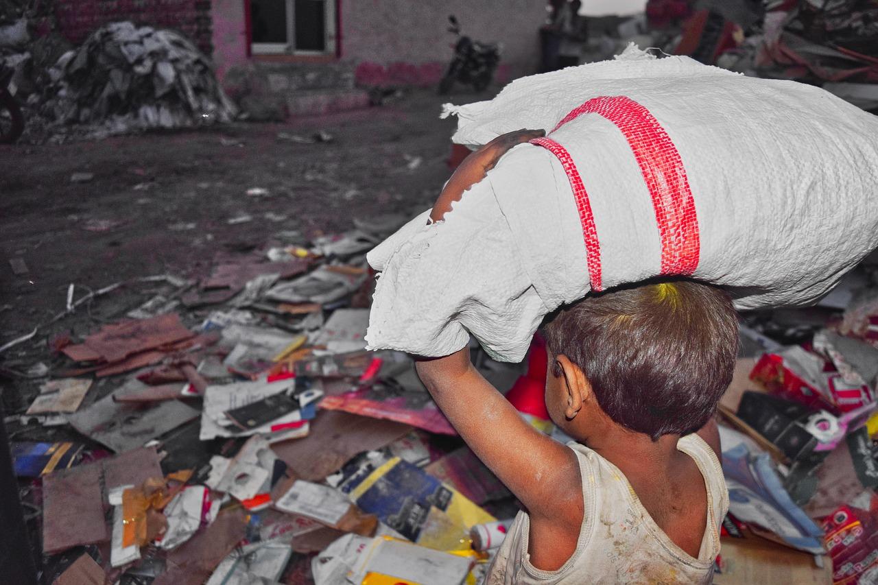 Poor Child Labor Boy Little