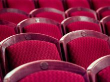 Theater Chairs Red Audience Cinema