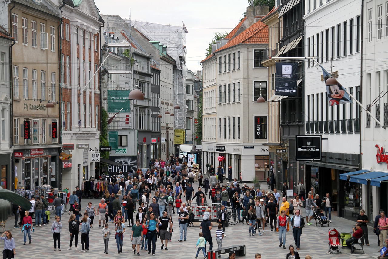 Copenhagen Shopping Area  - MonicaVolpin / Pixabay