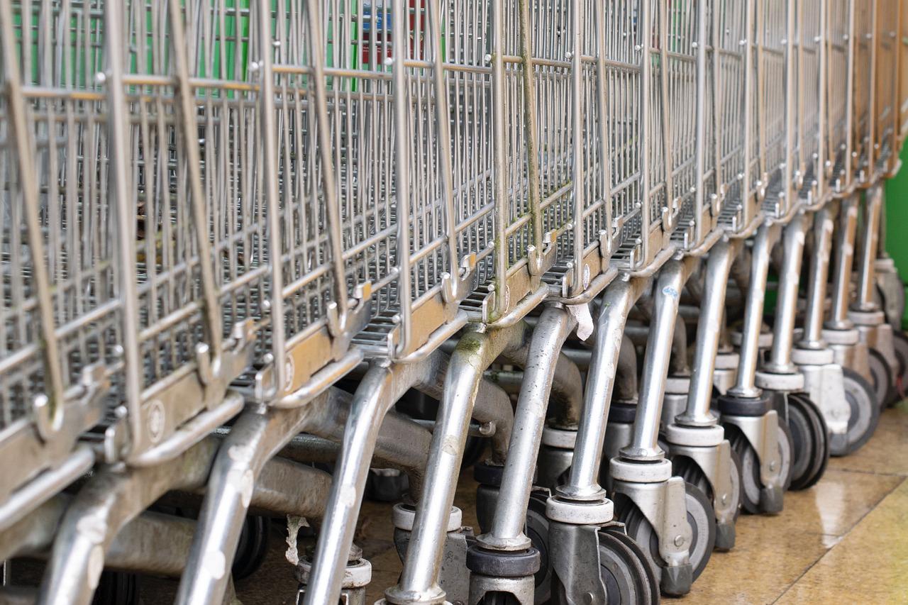 Shopping Trolly Supermarket Trolley