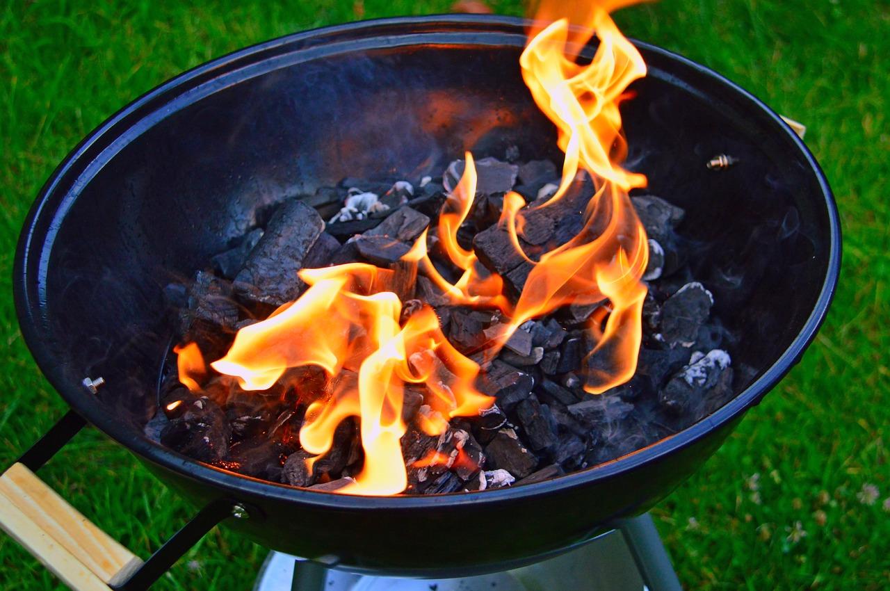 Charcoal Garden Party Baking  - adonyig / Pixabay
