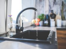 Tap Black Faucet Kitchen Sink  - kaboompics / Pixabay
