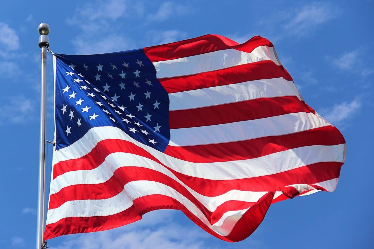 Us Flag American Flag Flag American  - LizzieB67 / Pixabay